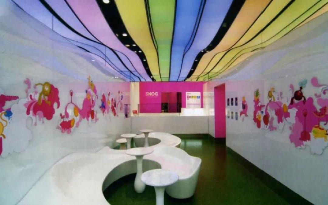 Eğlence Merkezi Tavan ve Duvar Dekorasyonu