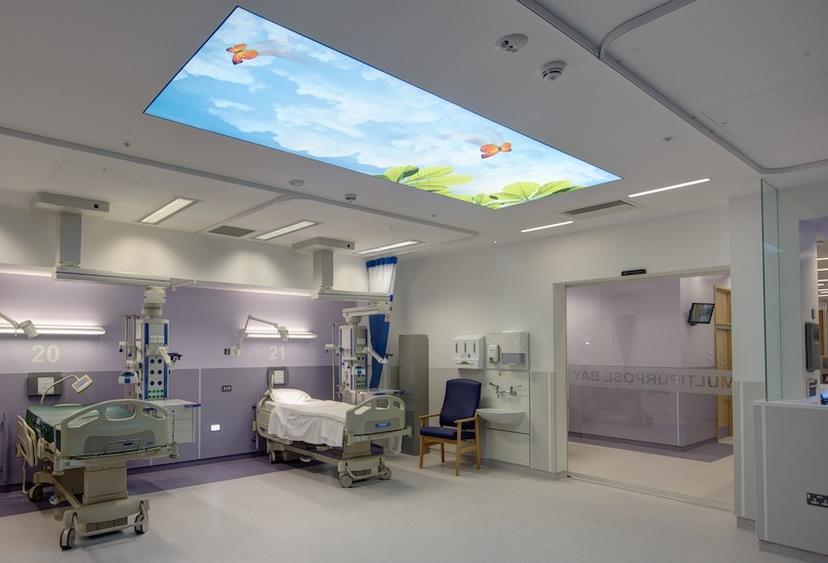 Hastane Tavan Dekorasyonu
